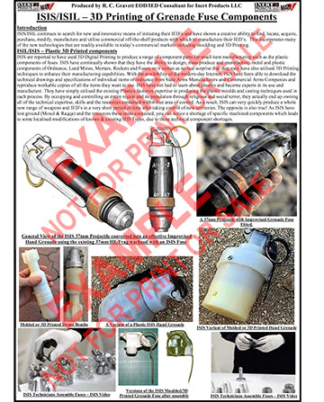 CIED Advanced Poster Series - ISIS Devices: Printing Grenade Fuses &  Components