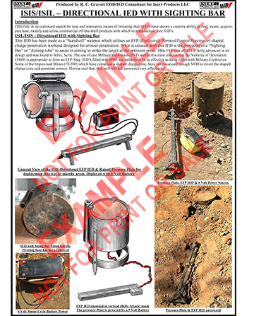 CIED Advanced Poster Series - ISIS Devices: Directional IED w/ Sighting Bar