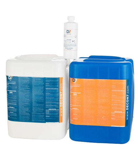 D7 Multi-Use Disinfectant / Decontaminant - 10 Gallon Kit