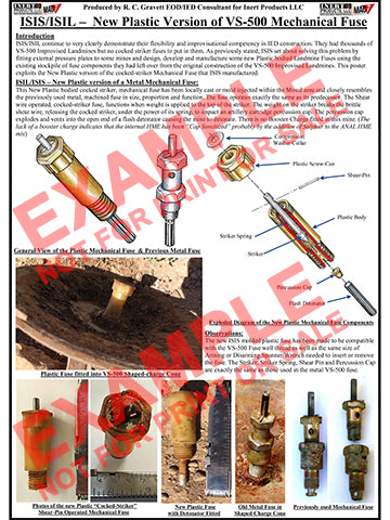 CIED Advanced Poster Series - ISIS Devices: Improvised Plastic Fuze for VS-500