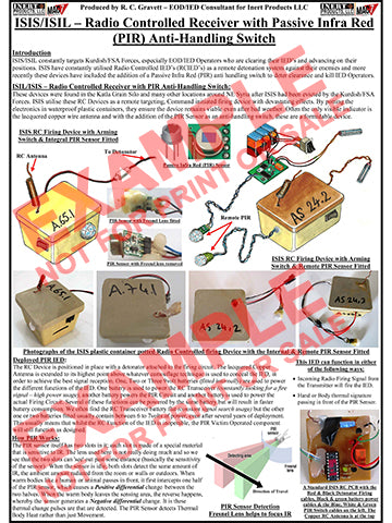 CIED Advanced Poster Series - ISIS Devices: Booby Trapped RC Receiver Firing Device