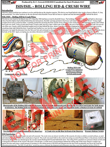 CIED Advanced Poster Series - ISIS Devices: Rolling IED