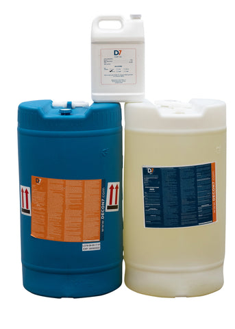 D7 Multi-Use Disinfectant / Decontaminant - 30 Gallon Kit