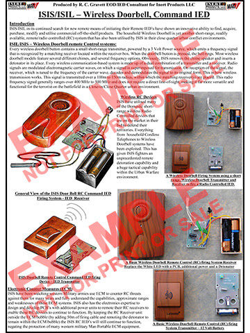 CIED Advanced Poster Series - ISIS Devices: Wireless Doorbell Firing Device