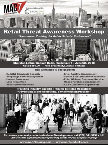 Retail Threat Awareness Workshop