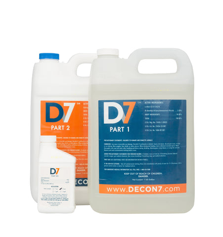 D7 Multi-Use Disinfectant / Decontaminant - 2 Gallon Kit