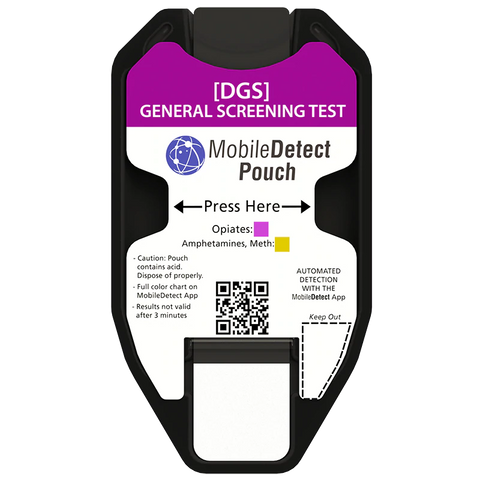 General Opiates Screening Test - MobileDetect Pouch