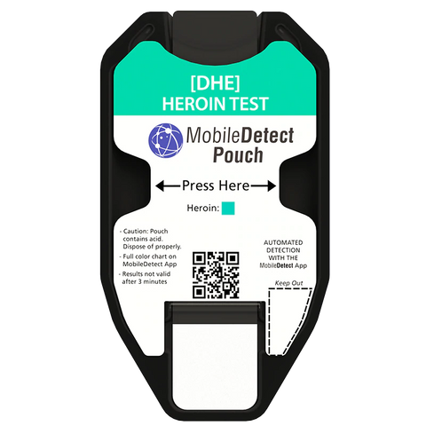Heroin Test - MobileDetect Pouch
