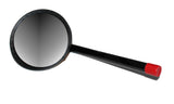 "Inspection Mirror - 12"" Handle, 5"" Mirror"