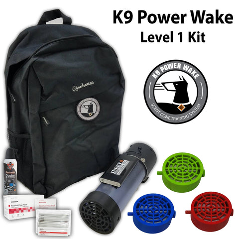 K9 Power Wake Scent Cone Training System - Level 1 Package
