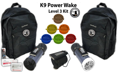 K9 Power Wake Scent Cone Training System - Level 3 Package