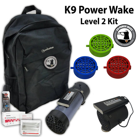 K9 Power Wake Scent Cone Training System - Level 2 Package