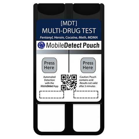 Multi-Drug Test - MobileDetect Pouch