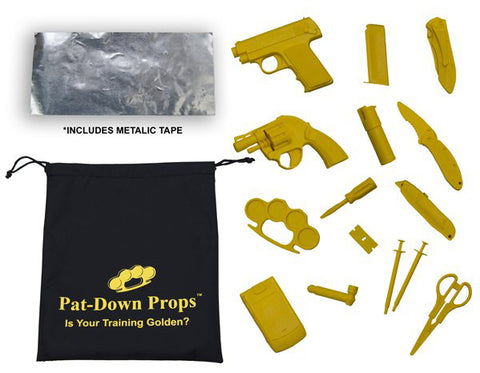 Pat-Down Props Training Kit