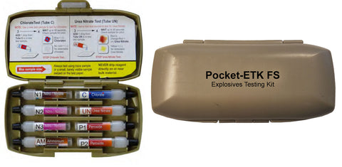 Pocket-ETK FS (Explosives Testing Kit) #108 - Case of 10