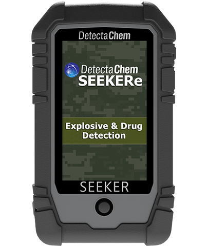 SEEKERe - Handheld Narcotics & Explosive Detection