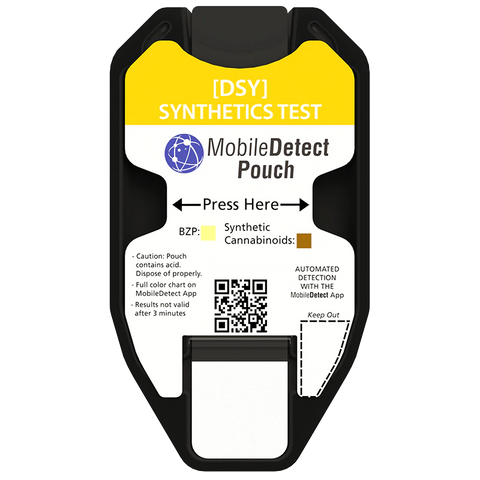 Synthetic Cannabinoid Test - MobileDetect Pouch