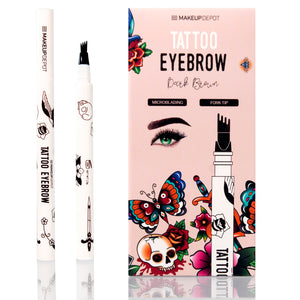 Eyebrow Tattoo Pen Waterproof – Dark Brown
