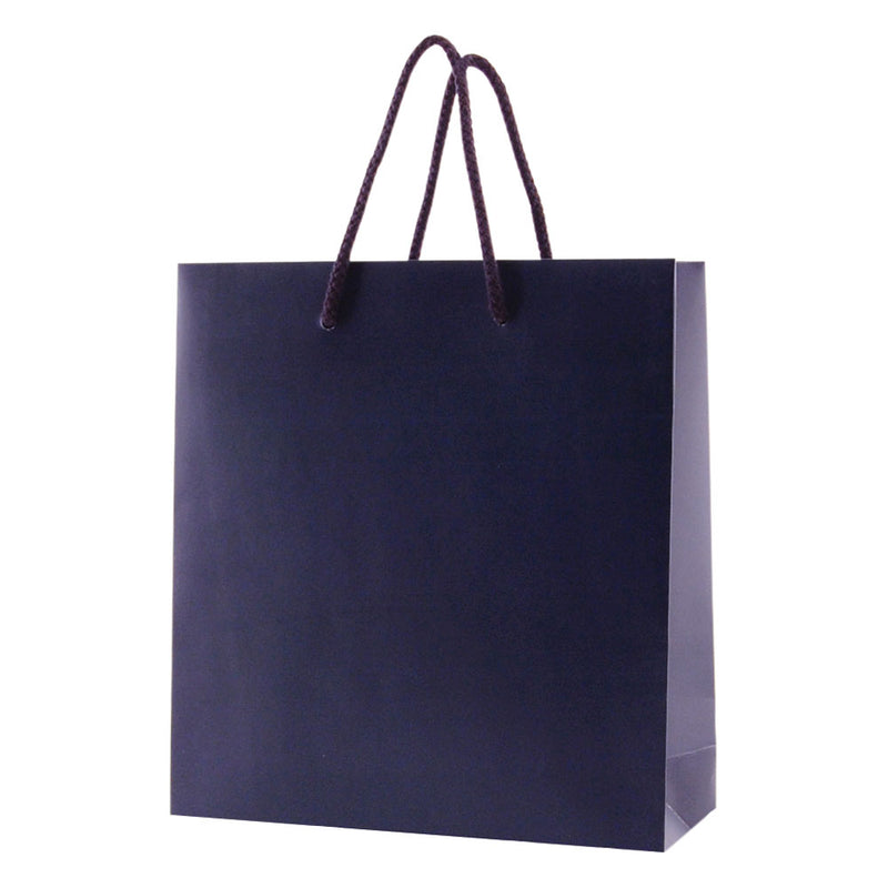 Matte Rope Handle Bags - Navy