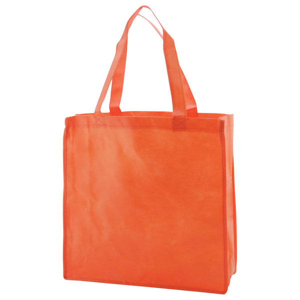 Reusable Non Woven Bags - Orange