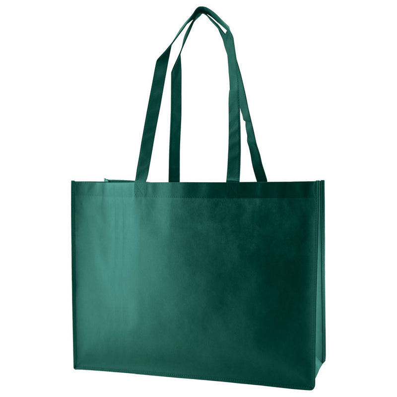 Reusable Non Woven Bags - Hunter Green