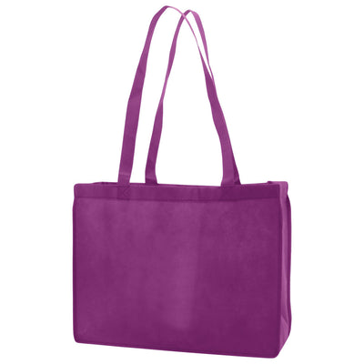 Reusable Non Woven Bags - Purple