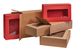 Textured Rib Red Boxes
