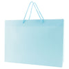 Matte Rope Handle Bags - Blue