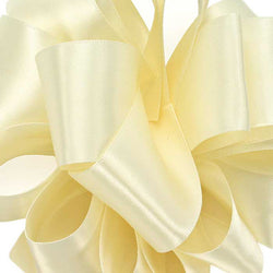 Double Face Satin Ribbon/ivory