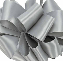 Double Face Satin Ribbon/silver