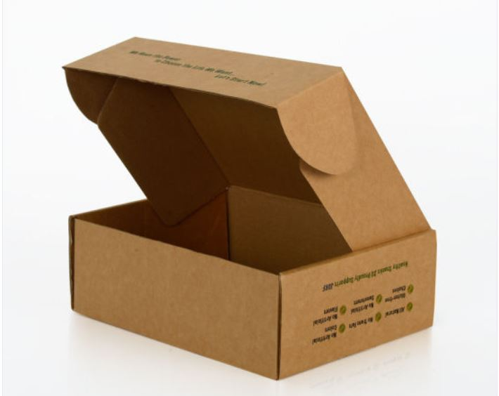 Custom Kraft Corrugated Box