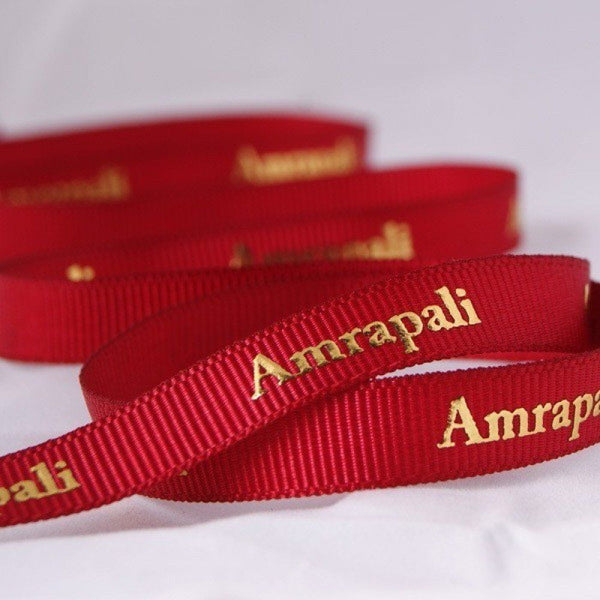 Grosgrain Ribbon/red
