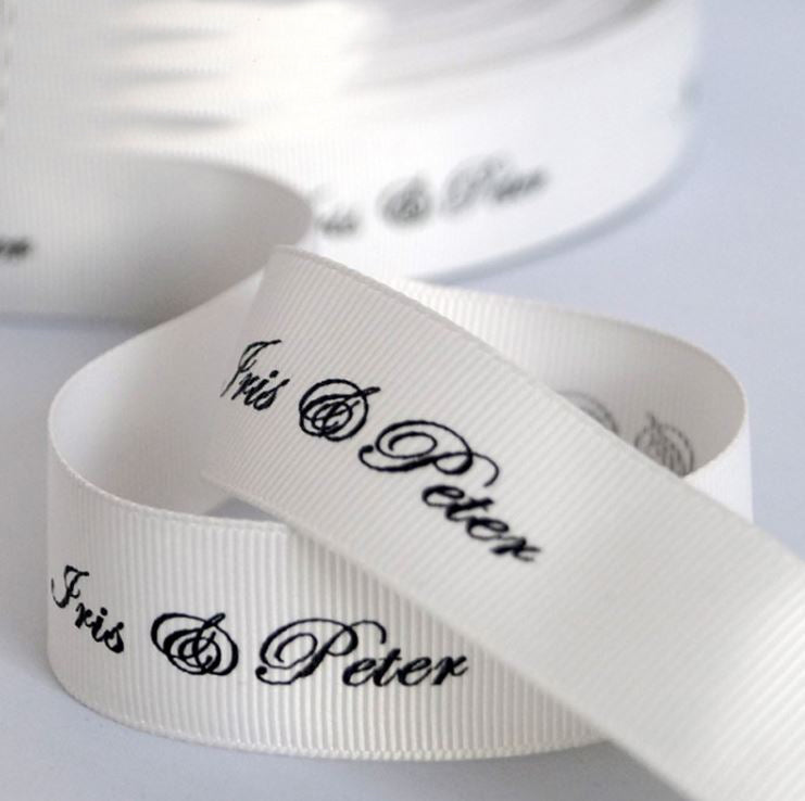 Custom Grosgrain Ribbon