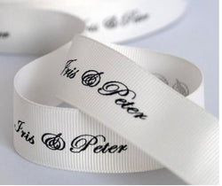 Grosgrain Ribbon/White