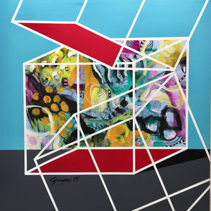 Debi Grupe Abstract art in Palm Springs