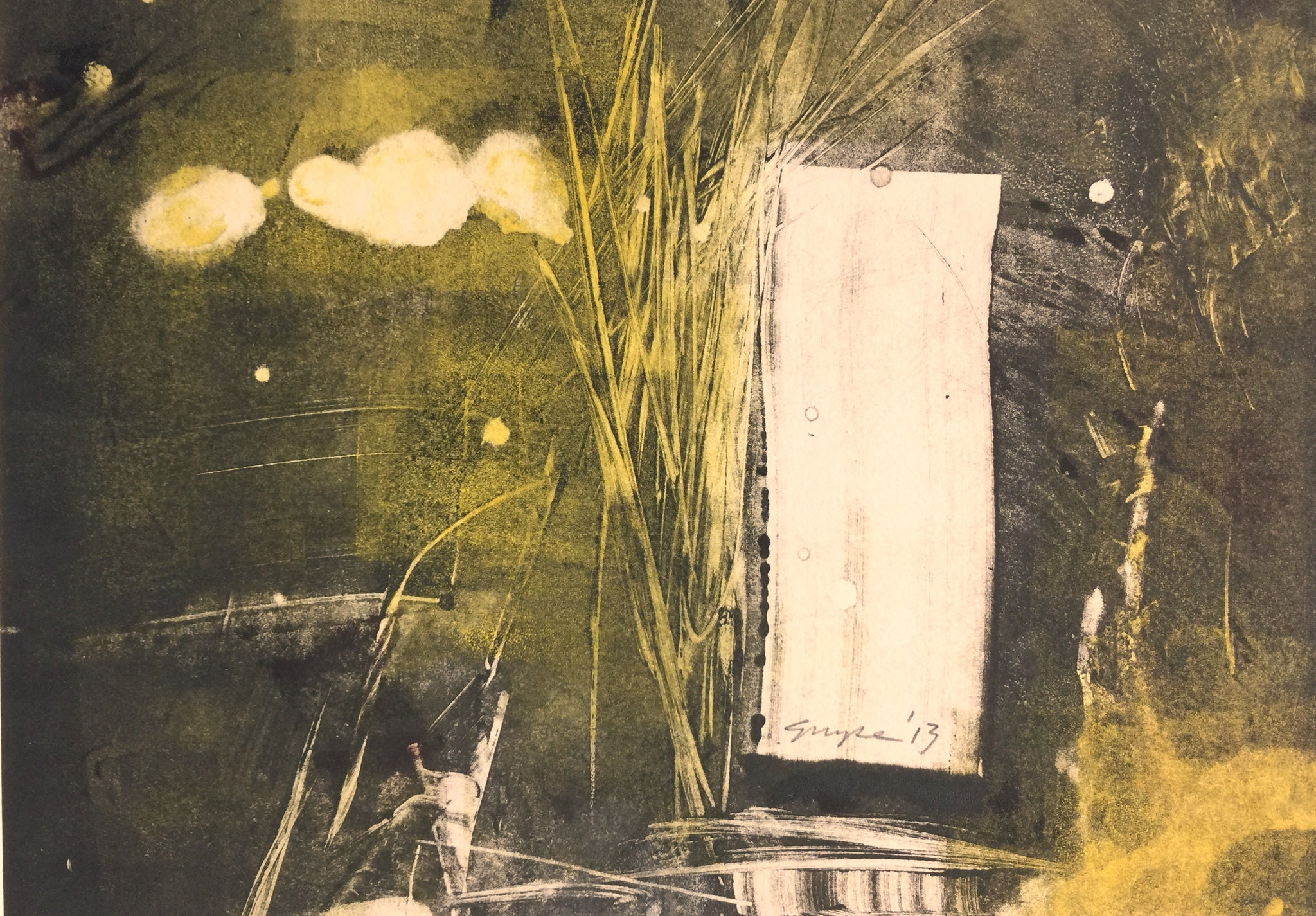Monoprint by Debi Grupe