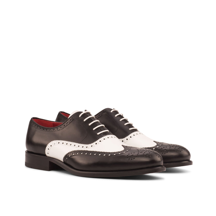 Wingtip Full Brogue | Black & White