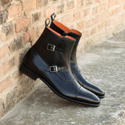 Octavian Buckle Boot | Black