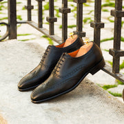 Wingtip Full Brogue | Black