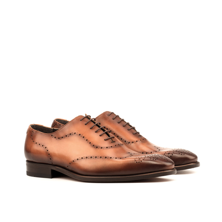 Whole Cut Oxford | Cognac