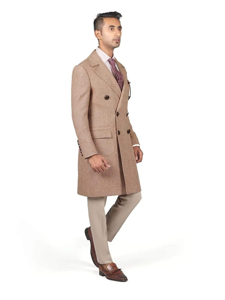 Trench Coat - Wool - Double Breasted