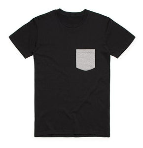 Two Tone Pocket Tee - 8.00 EA