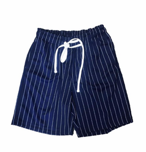 Pin Stripe Track Short - 15.00