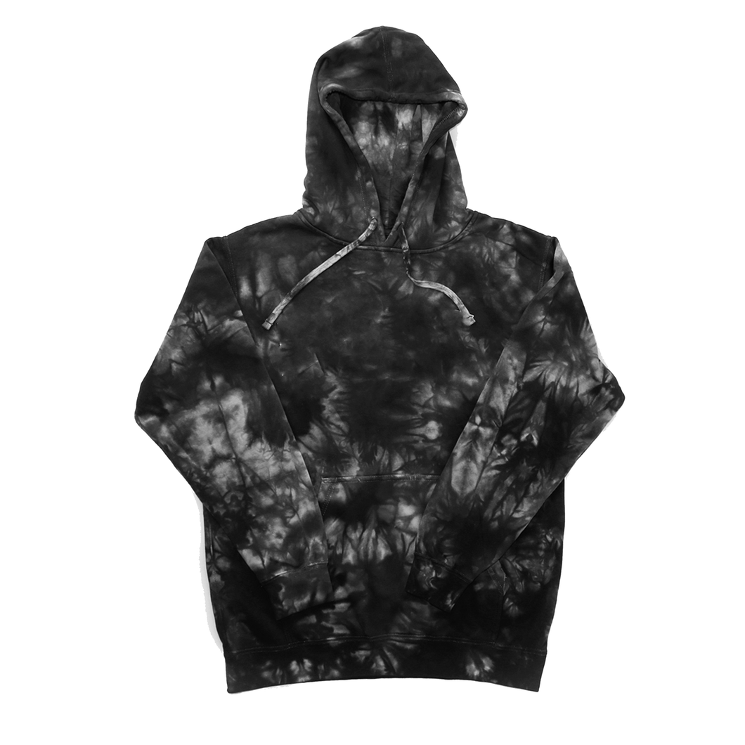 Tie Dye Fleece Mid-Weight Pull Over Hood- 18.50 EA