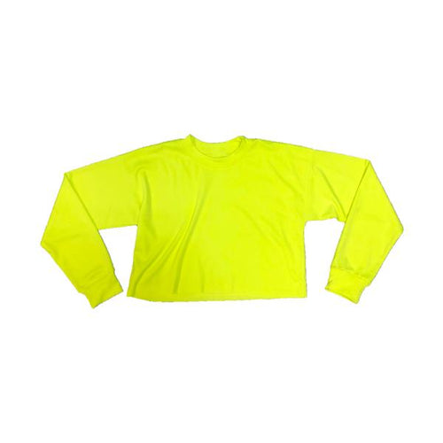 Neon Sports Crop Crewneck - 13.25 EA
