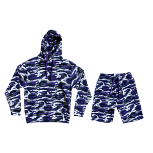 Retro Camo Fleece Set - 25.00