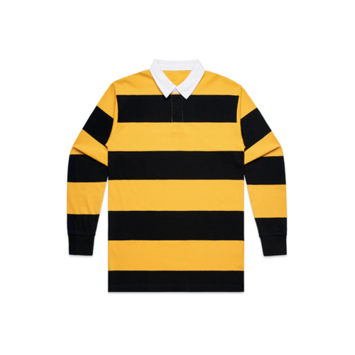 STRIPE RUGBY POLO LONG SLEEVE - 21.00 EA