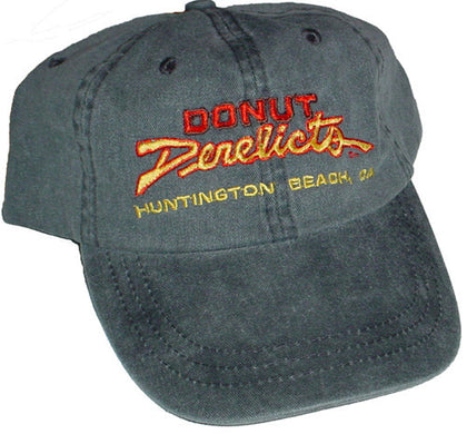 Donut Derelicts Pigment Dyed Twill Cap - Donut Derelicts