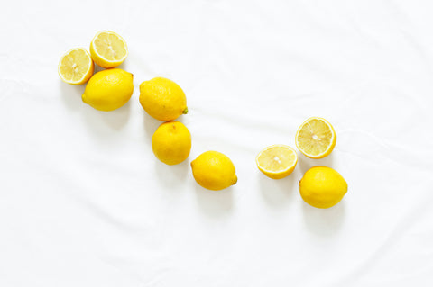fresh lemons natural DIY homemade cleaning products