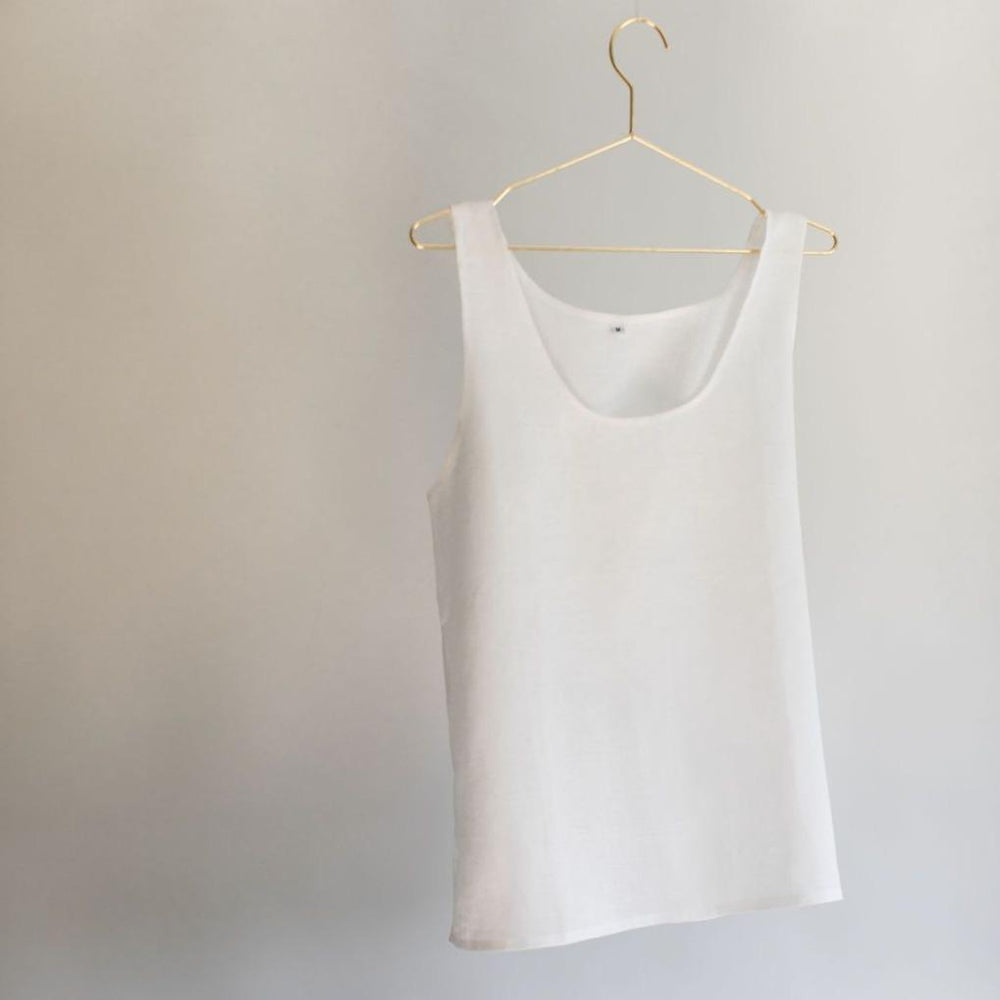 White Cami Top - PIGLET US